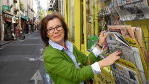 """إيديت شلافَر مؤسِّسَة منظمة """"نساء بلا حدود"""". Foto: """"Frauen ohne Grenzen"""""""