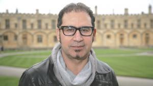 الروائي العراقي علي بدر (photo: picture-alliance/Photoshot)