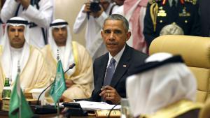 أوباما في قمة مجلس التعاون الخليجي 21 / 04 / 2016. Foto: Reuters/K. Lamarque