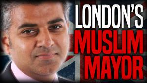 عمدة العاصمة البريطانية لندن صادق خان. مصدر الصورة youtube