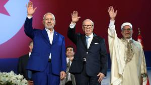 المؤتمر العاشر لحزب النهضة التونسي Foto: FETHI BELAID/AFP/Getty Images