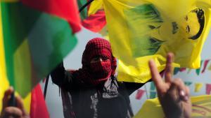 PKK-Militante in Diyarbakir; Foto: STRINGER/AFP/Getty Images