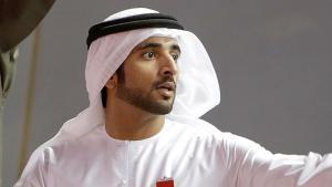 ولي عهد إمارة دبي، حمدان بن محمد بن راشد آل مكتوم. Foto: Getty Images/AFP/M. Naamani