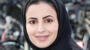 الكاتبة السعودية الهنوف الدغيشم الصورة خاص