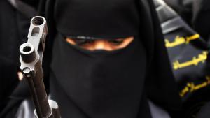 جهادية داعشية  Foto: picture-alliance/landov