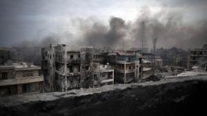 حلب التي دمَّرتها الحرب. Foto: picture-alliance/AP-Photo/M. Brabo