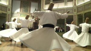 درويش راقص. Foto: Deutsche Welle