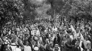 الثورة العربية في فلسطين عام 1936. (photo: Public Domain)