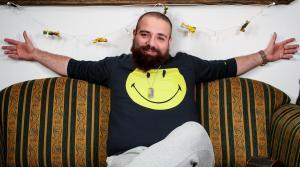 صانع الأفلام الفكاهية السوري فراس الشاطر. Foto: Wikipedia