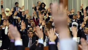 تصويت البرلمان الجزائري. Foto: Getty Images/AFP/F. Batiche