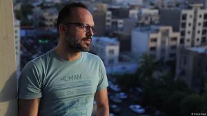 المدون الإيراني حسين درخشان Hossein Derakhshan; Foto: Donya Raad