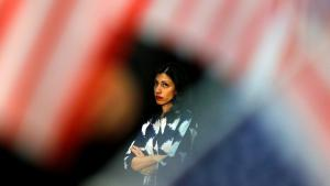 هوما محمود عابدين. Foto: Mike Blake/Reuters