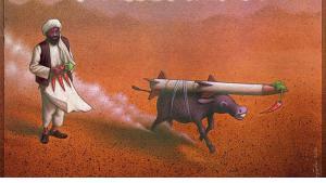صورة رمزية. داعش أضرت بالسنة. المصدر http://azamil.com