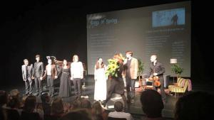 """مهرجان بيتهوفن الموسيقي في ألمانيا لعام 2016  تحت شعار """"الثورات""""، الصورة: لؤي المدهون"""
