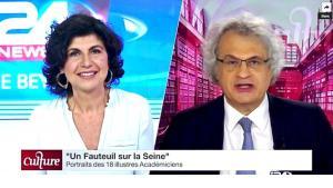 فجّرت مقابلة الأديب اللّبنانيّ - الفرنسيّ، أمين معلوف (67 عامًا)، مع قناة i24  الإسرائيليّة، جدلًا واسعًا في المشهد الثّقافيّ والإعلاميّ العربيّ، تحديدًا اللّبنانيّ والفلسطينيّ.