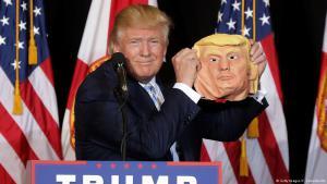 دونالد ترام خلال حملته الانتخابية للرئاسة الأمريكية. Foto: Getty Images