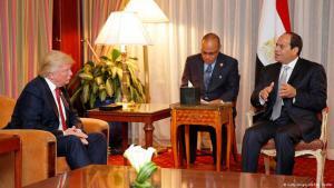 الرئيس المصري السيسي حليف محتمل لترامب. Egyptian President El-Sisi, a possible Arab ally for Trump