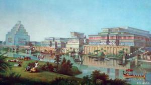 المدن الأولى: أىُنشئت أولى المدن البشرية على ضفاف نهري دجلة والفرات قبل 6000 عام. وعلى مدى ثلاثة آلاف سنة، تطورت حضارة الرافدين لتصبح شبكة من المدن الحضرية، أدت في نهاية المطاف لظهور مراكز مدنية حضرية حقيقية مثل بابل، ونينوى التي أعيد بناؤها.