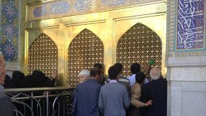 ضريح الإمام الرضا في مدينة مشهد الإيرانية. Foto: privat