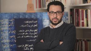 الكاتب السوري رائد وحش. Foto: Salama Abdo