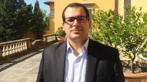 الخبير السياسي التونسي حمزة المؤدّب هو زميل باحث في معهد الجامعة الأوروبية في فلورنسا. Foto: Hamza Meddeb