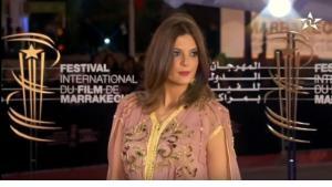 من حفل افتتاح مهرجان مراكش الدولي للفيلم  في المغرب 2016