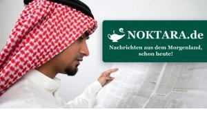 """من موقع """"نوكتارا"""" المسلم الساخر باللغة الألمانية. Quelle: noktara.de"""