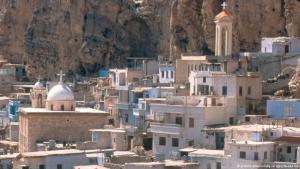 بلدة معلولا السورية. Foto: picture-alliance