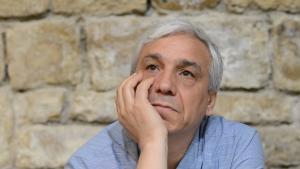 المعارض السوري ياسين حاج صالح. Foto: AP