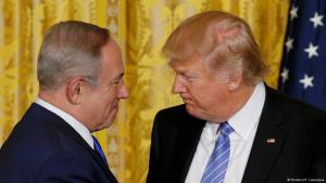 ترامب ونتنياهو في البيت الأبيض بتاريخ 15 / 02 / 2017 (photo: Reuters/K. Lamarque)