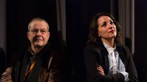 المخرج الجزائري مرزاق علواش والممثلة الجزائرية سليمة عبادة في مهرجان برلين السينمائي الدولي. (source: Internationale Filmfestspiele Berlin)