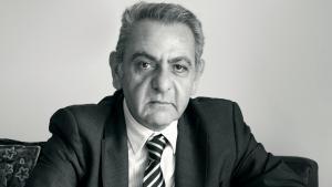 الصحفي اللبناني حازم صاغية. Quelle: H.Saghieh-photo by C.Charafeddine