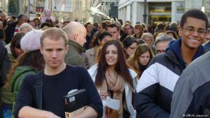 ألمانيا واحدة من أكثر الدول جاذبية للمهاجرين من مختلف دول العالم وخاصة الشباب من دول الاتحاد الأوروبي وحوض المتوسط بما فيها الدول العربية.