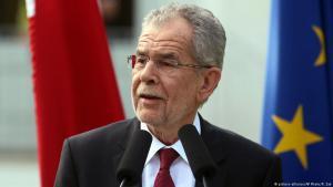 الرئيس النمساوي فان دير بيلين. Foto: picture-alliance/AP