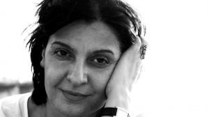 الكاتبة اللبنانية إيمان حميدان. (photo: Reine Mahfouz)
