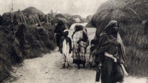 صورة تاريخية للرقيق في بنغازي الليبية