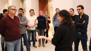 ملتقى- يجول بالوافدين الجدد في متاحف برلين بالعربية