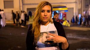 نوال بنعيسى، شابة ريفية برزت مؤخرا كناشطة في حراك الريف خاصة بعد اعتقال زعيمه ناصر الزفزافي.
