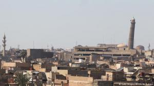 """أعلنت القوات العراقية أن تنظيم """"داعش"""" فجر منارة الحدباء التاريخية وجامع النوري الكبير الذي شُيد عام 1172 وشهد الظهور العلني الوحيد لزعيم التنظيم أبو بكر البغدادي في المدينة القديمة بغرب الموصل. تفجير المسجد الذي يحمل قيمة رمزية كبيرة للتنظيم، اُعتبر بمثابة إقرار بـ""""هزيمة"""" التنظيم."""