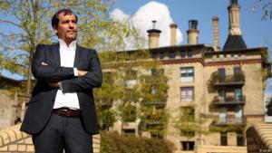 المهندس المعماري الفلسطيني حاتم الصفدي في برلين.