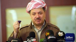 مسعود بارزاني رئيس إقليم كردستان العراق