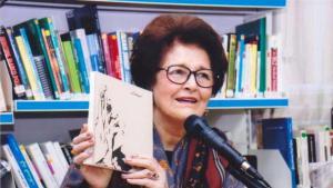 إملي نصرالله واحدة من الكتاب المشهورين في العالم العربي . Foto privat