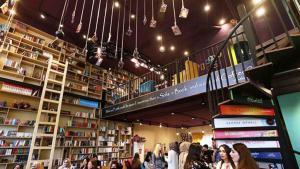 (source: raseef22) مقهى الكتب في مدينة إربيل في كردستان العراق