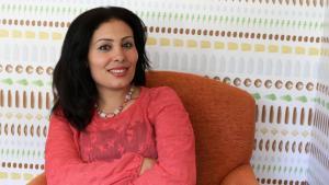 الكاتبة والروائية المصرية منصورة عز الدين. الصورة: خاص