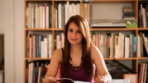 ;  الكاتبة السورية وداد نبي Foto: Heike Steinweg