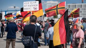 مسلمون يتظاهرون ضد العداء للإسلام  Foto: picture-alliance/dpa