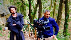 """المخرج محمد قناوي. الصورة: مهرجان """"أوروبا-الشرق للفيلم الوثائقي"""" في المغرب"""