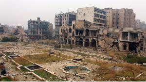 حلب المدمرة. Foto: picture-alliance