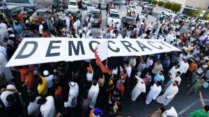 مظاهرة تطالب بالديمقراطية في البحرين Foto: Reuters/Hamad I Mohammed