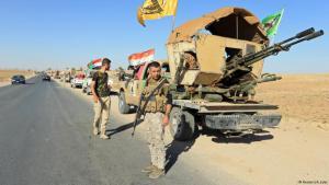 ميليشيات شيعية في محافظة نينوى العراقية.: Foto: Reuters/ A. Jalal